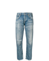 Citizens of Humanity Straight Leg Distressed Jeans