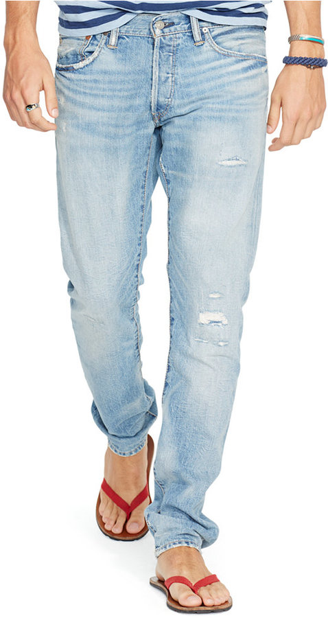 eefe0a4c99 $145, Polo Ralph Lauren Sullivan Slim Fit Emery Wash Stretch Jeans