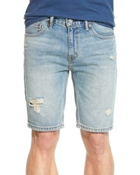 Levi's 511 Tm Slim Fit Distressed Denim Shorts