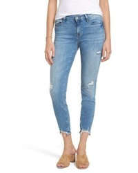Adriana ripped skinny crop jeans medium 4913743