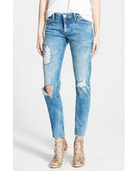Blanknyc good vibes distressed skinny jeans medium 518544