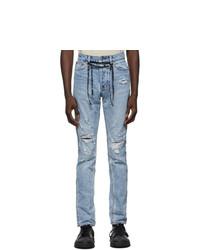 Ksubi Blue Chitch Distressed Jeans
