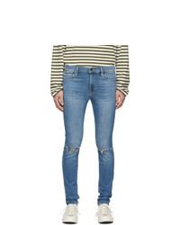 Frame Blue Jagger True Skinny Jeans