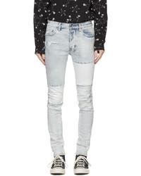 Ksubi Blue Paneled Chitch Jeans