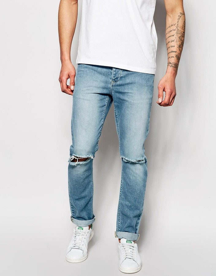 Asos Brand Skinny Jeans With Rips | Where to buy & how to wear