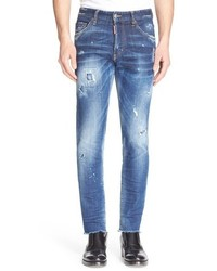 Destroyed skinny fit jeans medium 783818