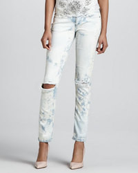Haute Hippie Distressed Cloud Wash Jeans