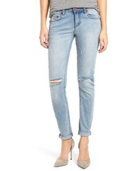 One Teaspoon Distressed Skinny Jeans