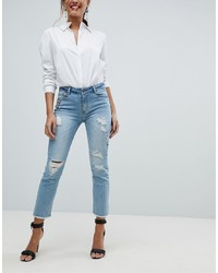 Morgan Embellished Distressed Skinny Jean