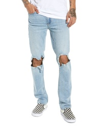 BLANKNYC Horatio Distressed Skinny Fit Jeans