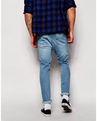 Skinny Jeans in Mid Blue - Blue Hoxton Denim zvyOFuriQw