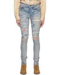 Amiri Indigo Patch Jeans