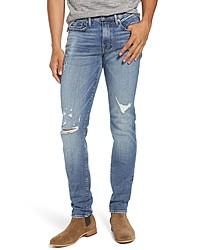 Frame Lhomme Destroyed Skinny Fit Jeans