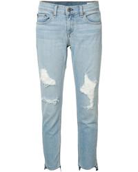 Rag & Bone Marina Ripped Skinny Jeans