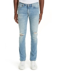 Acne Studios Max Ripped Skinny Fit Jeans