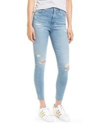 AG Mila High Waist Ankle Skinny Jeans