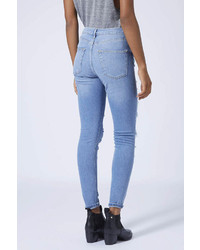 3548fba8eb2 Topshop Moto Salt And Pepper Ripped Jamie Jeans, $85 | Topshop ...
