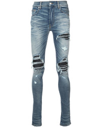 Mx1 leather insert jeans medium 5274694