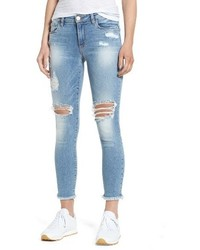 Ripped ankle skinny jeans medium 4065284