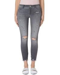 Ripped crop skinny jeans medium 3681047