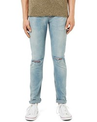 Ripped stretch skinny fit jeans medium 750087