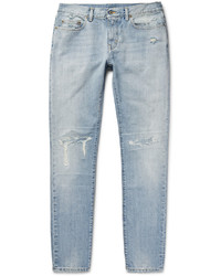 Skinny fit 16cm distressed washed denim jeans medium 705361