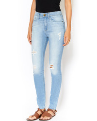 Sneak Peek Light High Waist Jeans