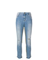 Ermanno Scervino Stripe Detail Skinny Jeans