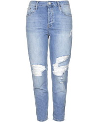 Topshop Tall Moto Ripped Hayden Jeans