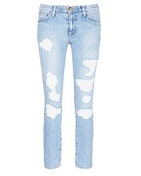 Current/Elliott The Fling Distressed Jeans