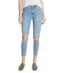 Free People We The Free By High Waist Ankle Skinny Jeans