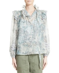Marc Jacobs Nymph Ruffle Blouse