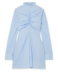 MARQUES ALMEIDA Ruched Tencel Mini Dress