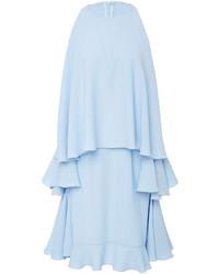 Light Blue Ruffle Dress