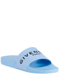 Givenchy Logo Pool Slide Sandals