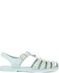 Gucci Tigers Head Embellished Sandals