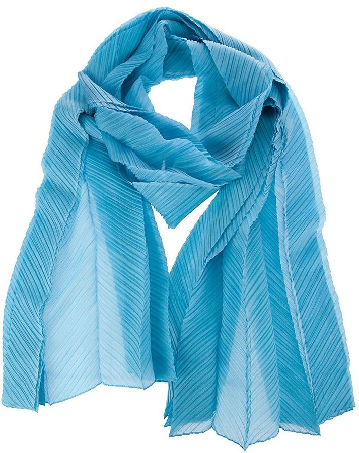 issey miyake vintage pleated scarf where to buy how to