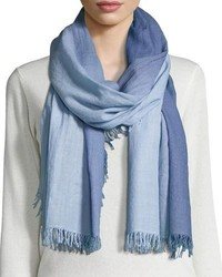 Eileen Fisher Silk Cashmere Ombre Scarf Morning Glory