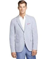 Light Blue Seersucker Blazers for Men | Men's Fashion