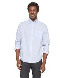 Striped seersucker shirt medium 321796
