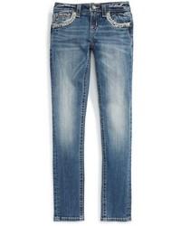 Miss Me Girls Embellished Skinny Jeans