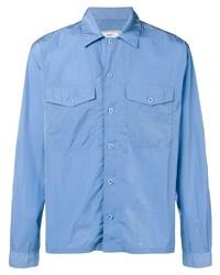 Ami Paris Camp Collar Overshirt