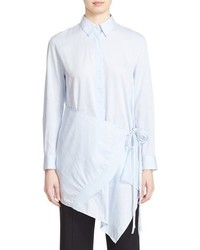 3.1 Phillip Lim Apron Front Cotton Shirt