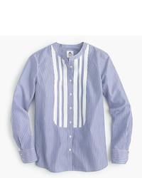 J.Crew Collection Thomas Mason For Shirt With Grosgrain Bib