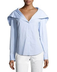 Theory Doherty Wide Collar Shirt