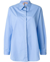 No.21 No21 Concealed Fastening Loose Fit Shirt