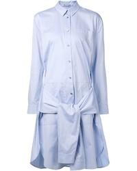 Alexander Wang T By Sleeve Tie Shirt Dress