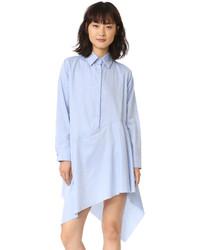 MARQUES ALMEIDA Asymmetrical Raw Hem Shirtdress