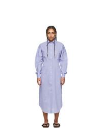 Acne Studios Blue Danete Shirt Dress
