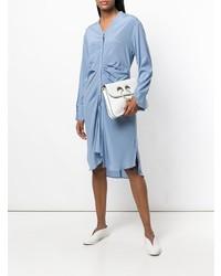 Roberta Furlanetto Draped Midi Dress